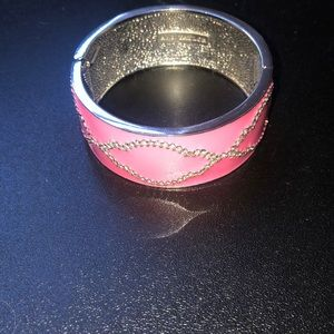 Ann Taylor Pink Cuff Bracelet
